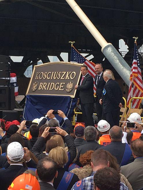W Nowym Jorku powstał ogromny most na cześć polskiego bohatera. Budowa kosztowała 555 mln dolarów