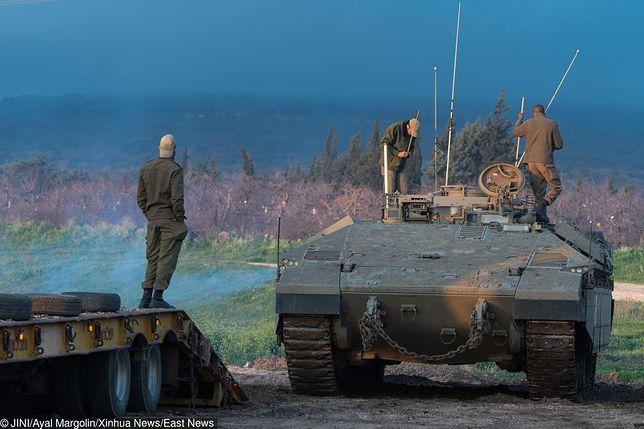 Izraelskie wojska od lat stacjonują na Wzgórzach Golan
