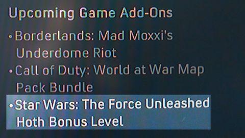 Atak na Hoth nie tylko w nowej wersji The Force Unleashed?