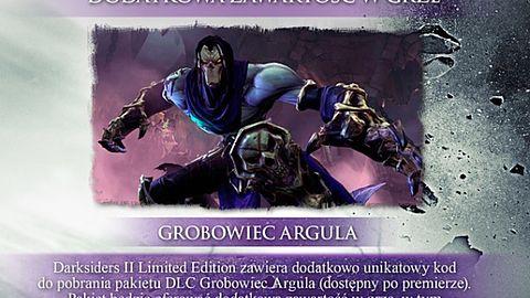 Mało wam Śmierci? Dodatek Argul's Tomb przedłuży jego przygodę w Darksiders 2