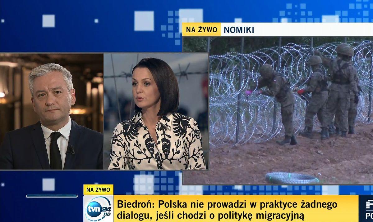 """Robert Biedroń był gościem """"Faktów po faktach"""""""