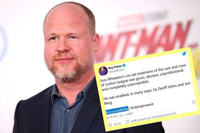Joss Whedon jest oskarżony o skandaliczne zachowanie na planie filmu