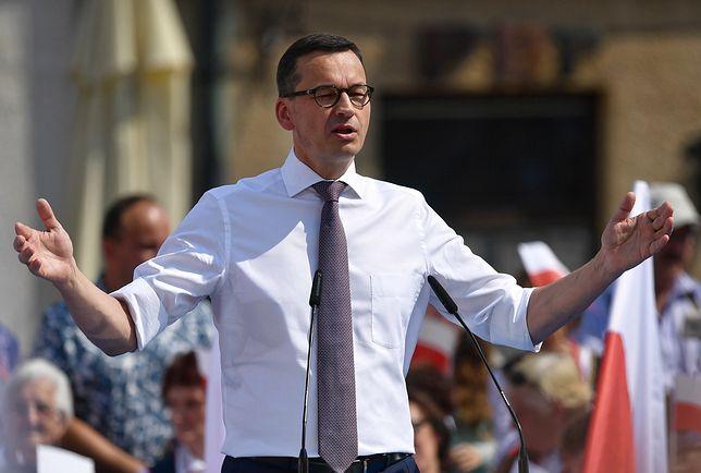 Mateusz Morawiecki w Sandomierzu przekonywał o swojej roli w negocjacjach akcesyjnych z UE