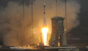 Sojuz wyrusza na orbitę