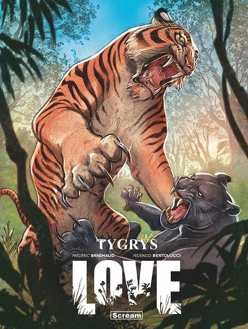 Love - Tygrys, wyd. Scream Comics 2021