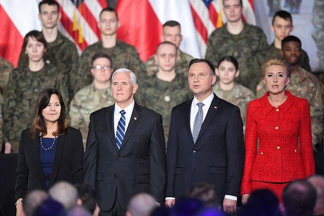 Szczyt bliskowschodni w Warszawie. Mike Pence: Polska jest oazą wolności w Europie Środkowej