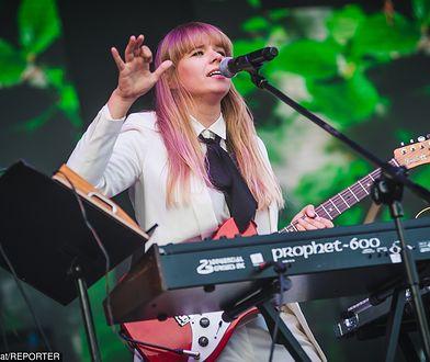 Wokalistka zespołu Rebeka była jedną z gwiazd ostatniego dnia festiwalu w Opolu
