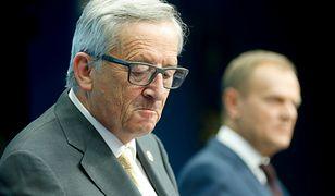Donald Tusk i Jean-Claude Juncker znaleźli się w przeciwnych obozach. Dzieli ich polityka migracyjna UE