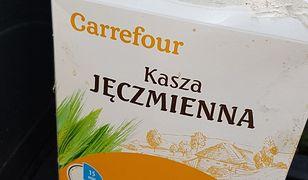 To najmniej nieprzyjemne ze zdjęć kaszy z Carrefoura przysłanych nam przez czytelnika