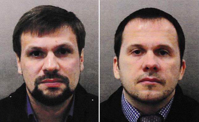 Brytyjska policja opublikowała wizerunki podejrzanych