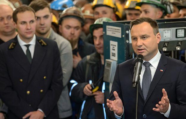 Prezydent w kopalni Bogdanka