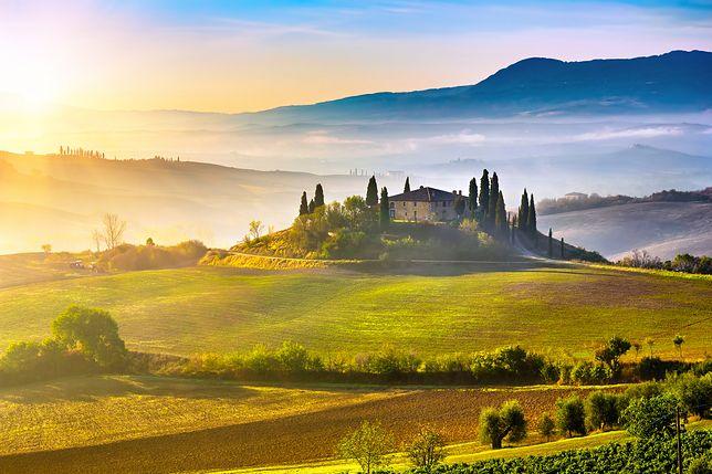 Toskania we Włoszech. Idealne miejsce na relaks