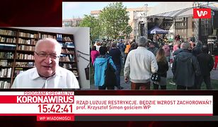 Koronawirus w Polsce. Prof. Krzysztof Simon skomentował tłumy na koncercie w Ciechanowie