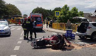 45-letni komendant z Mikołowa zmarł na miejscu wypadku mimo reanimacji