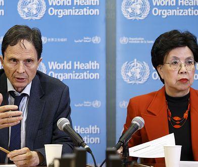 Koronawirus na świecie. WHO rozpatrzy sprawę masek ochronnych.