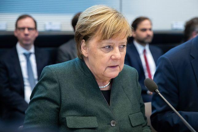 Niemcy. Kanclerz Angela Merkel jest w trudnej sytuacji