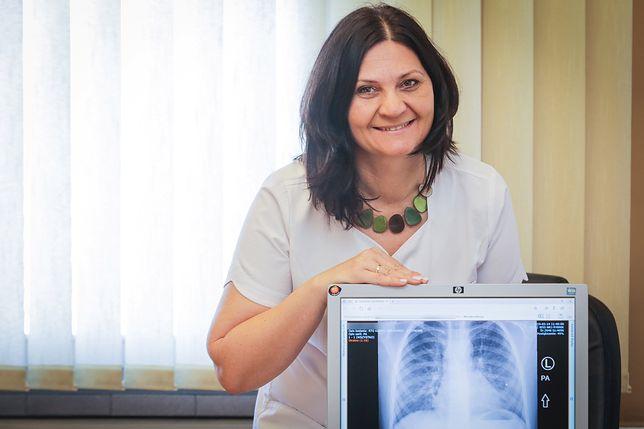 Katarzyna Musioł jest ordynatorem oddziału pediatrycznego rybnickiego szpitala