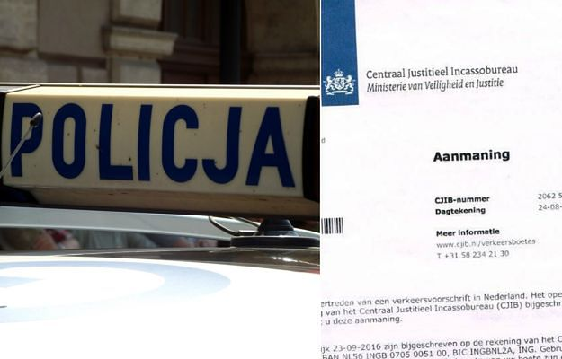 Polski kierowca dostał olbrzymie mandaty z Holandii, pomimo że nigdy tam nie był