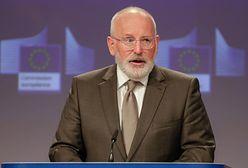 Frans Timmermans ostrzega Polskę i Węgry. Chodzi o praworządność