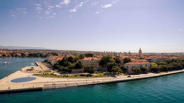 Zadar ze słynnymi Morskimi Organami doskonale reprezentuje środkową część Dalmacji w Chorwacji