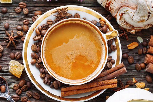 Kawa z cynamonem pobudza i dodaje energii