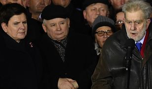 """Opozycja to """"pozostałość totalitarnej władzy"""". Andrzej Gwiazda uderza w przeciwników rządu"""