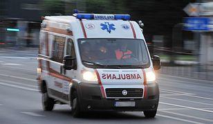 Wypadek w Zatorze. Jedna osoba nie żyje, trzy zostały ranne