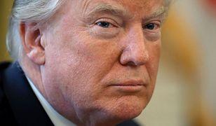Donald Trump potępił działania irańskiego rządu