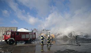 Podlaskie. Pożar składowiska odpadów w Studziankach koło Białegostoku wybuchł po raz kolejny w ciągu ostatnich kilku miesięcy [zdj. archiwalne]