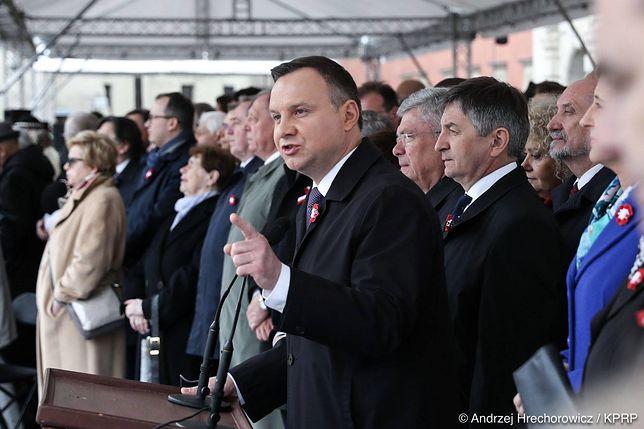 Andrzej Duda 3 maja 2017 roku.