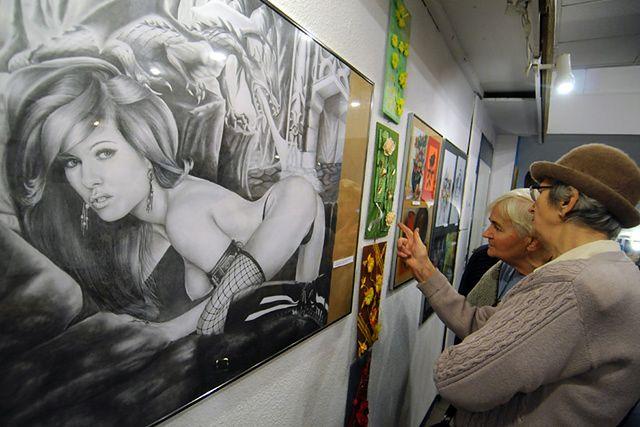 Prace zza krat trafiły do galerii - zobacz zdjęcia