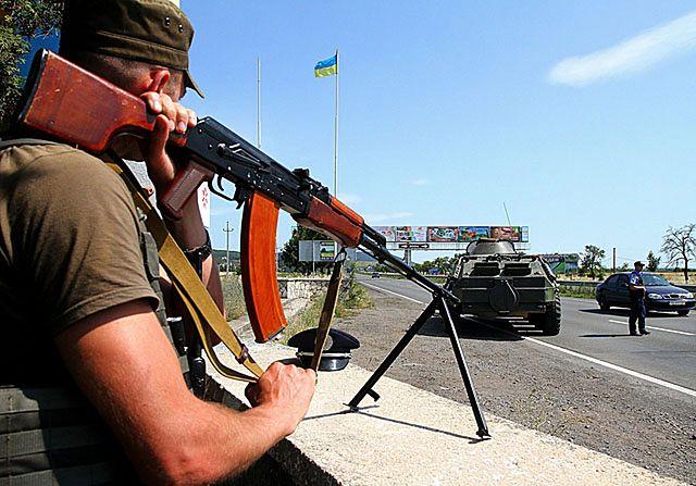Napięta sytuacja na zachodzie Ukrainy - zdjęcia