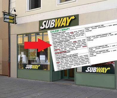 """Sprawdziłam, ile cukru kryje się w chlebie z sieci Subway. W porównaniu do Irlandii wypadamy """"blado"""""""
