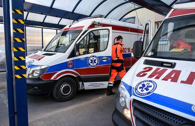 Wypadek z miejscowości Ciebłowice Duże (zdjęcie ilustracyjne)