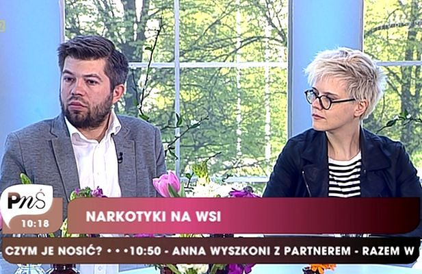 """Paweł Szakiewicz w """"Pytaniu na śniadanie"""". Rolnik zapuścił brodę!"""