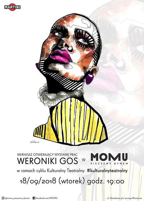 MOMU powraca z cyklem Kulturalny Teatralny - Wernisaż Weroniki Gos będzie pierwszym wydarzeniem po wakacyjnej przerwie.