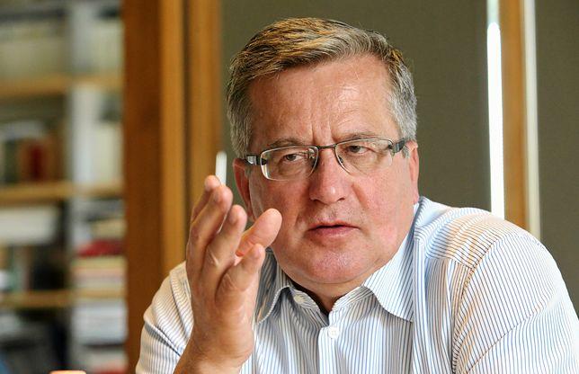 Bronisław Komorowski na temat wyborów w Niemczech.