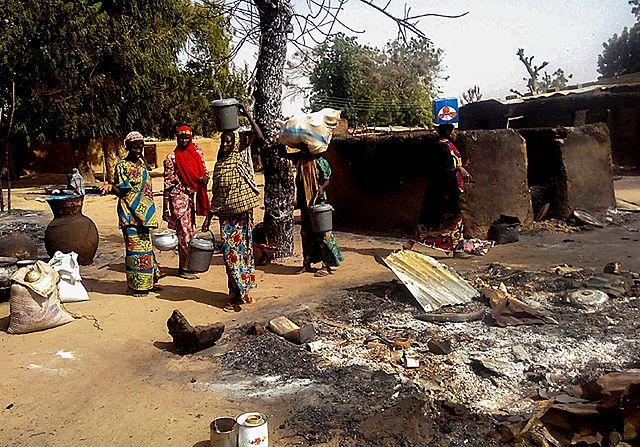 Rzeź koło kolebki Boko Haram - zdjęcia