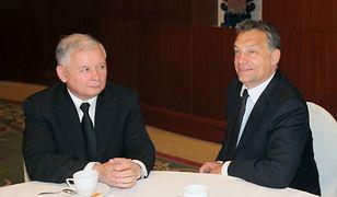 Jarosław Kaczyński i Viktor Orban - zdjęcie z 2010 roku