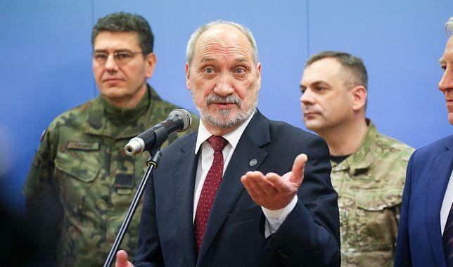 Były szef MON Antoni Macierewicz