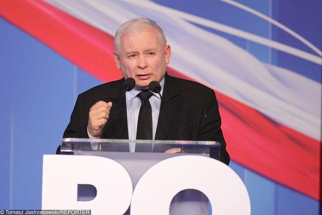 """Jarosław Kaczyński na konwencji PiS. """"Stoimy na straży normalności"""""""