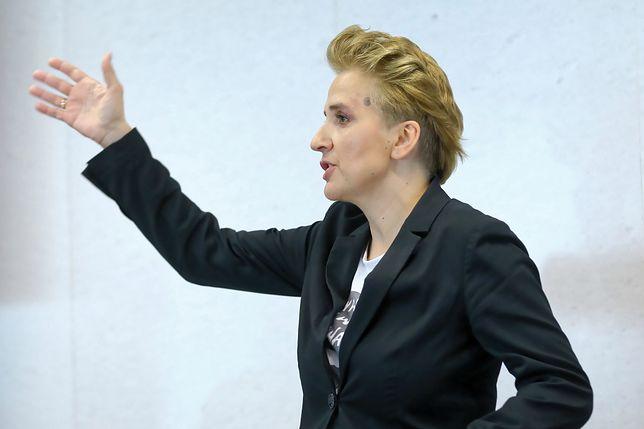 Joanna Scheuring-Wielgus wystąpiła z nową inicjatywą na wybory