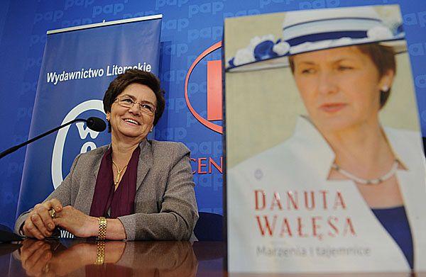 Danuta Wałęsa, żona byłego prezydenta Lecha Wałęsy