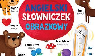 Angielski słowniczek obrazkowy. Książka interaktywna