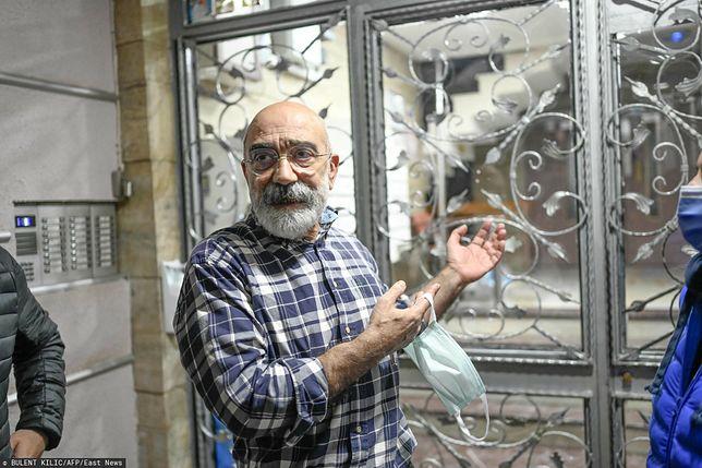 Turecki sąd zwolnił dziennikarza i pisarza Ahmeta Altana z więzienia