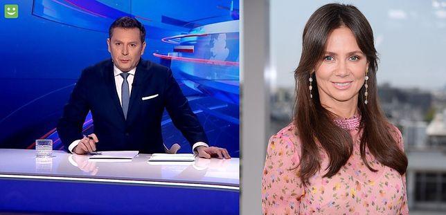 """Kinga Rusin była antybohaterką materiału niedzielnego wydania """"Wiadomości"""" TVP"""