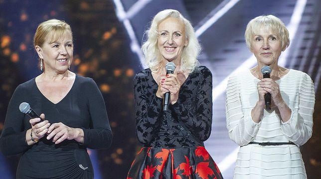 """Jolanta, Krystyna i Elżbieta Szydłowskie, zwyciężczynie pierwszej edycji programu """"The Voice Senior"""""""