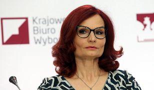 Małgorzata Pietrzak w wyrazistej stylizacji. Wcześniej potrafiła zaskoczyć