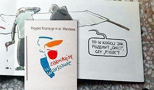 """""""Ch*j"""" czy """"pi*da"""", czyli miasto promuje się na Warszawskich Targach Książki"""