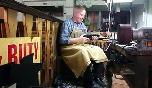 Od 30 lat naprawia buty warszawiakom. Jego zakład ma zostać zamknięty. Pomóżmy panu Edwardowi!